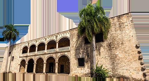 Alcázar de Colón en Dominicana por el Descubrimiento de América
