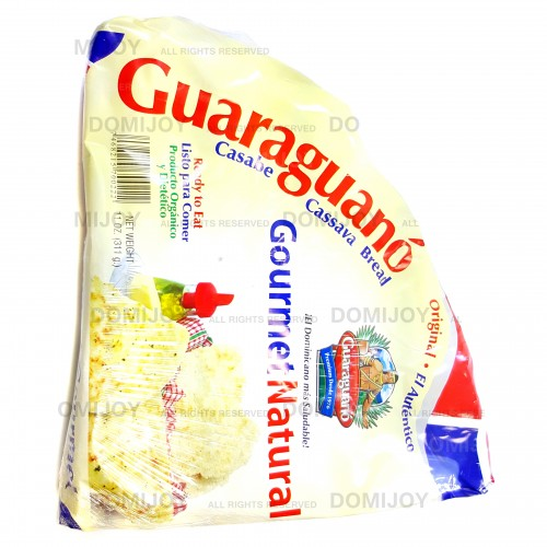 Guaraguano Gourmet Natural Dominican Cassava Bread (Casabe) 11 oz