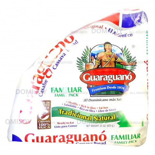 Guaraguano Traditional Natural Dominican Cassava Bread (Casabe) 11 oz