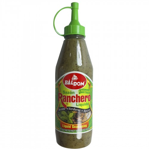 Baldom Ranchero Dominican Liquid Herbs Seasoning 29 oz