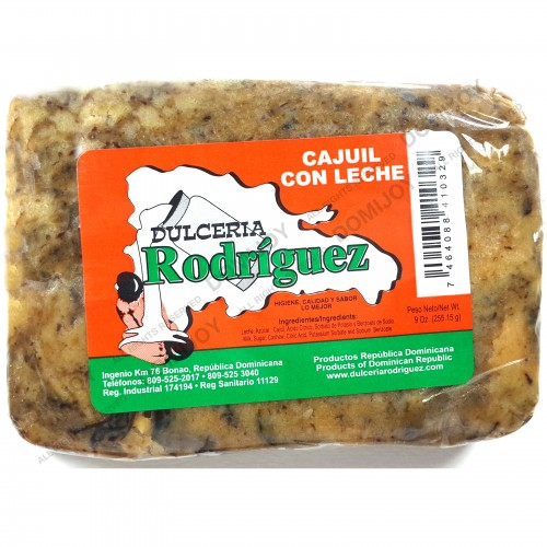 Dulceria Rodriguez Dominican Sweet Cashew and Milk Candy 9 oz