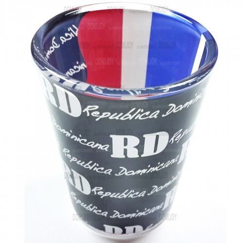 Shot Glass RD Half Black