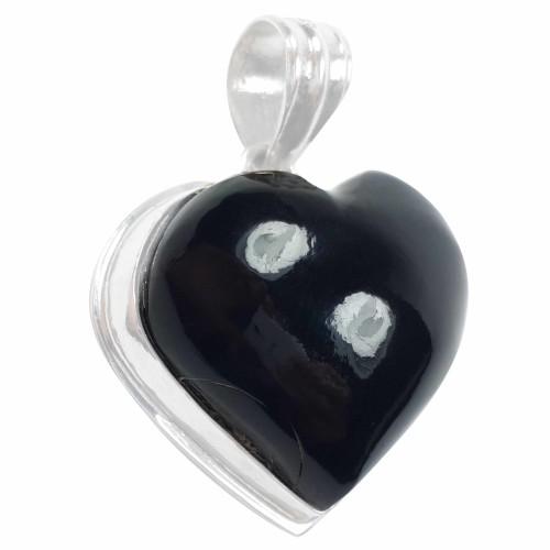 Jor-Black Coral Pendant-Product 179