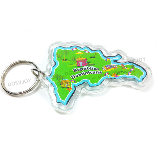 In-Green B Map-Key Chain-1