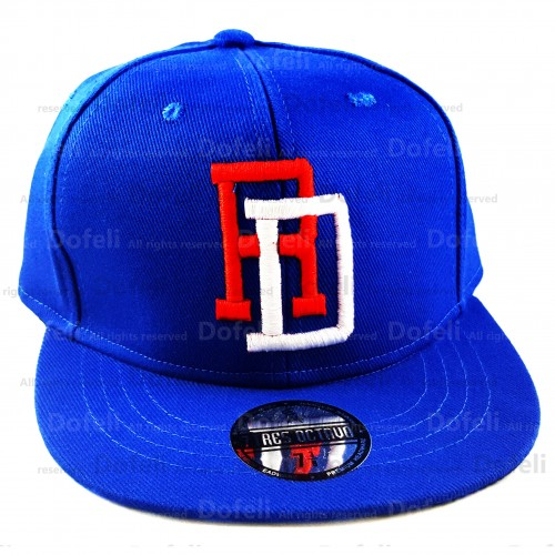 Dominican Blue RD Professional World Baseball Classic Tournament Team Fitted Cap