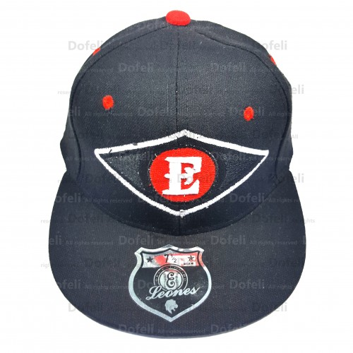 Dominican Leones Escogido Baseball Logo Main Black Adjustable Size Cap