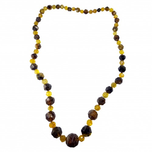 Dominican Amber Gemstone Necklace