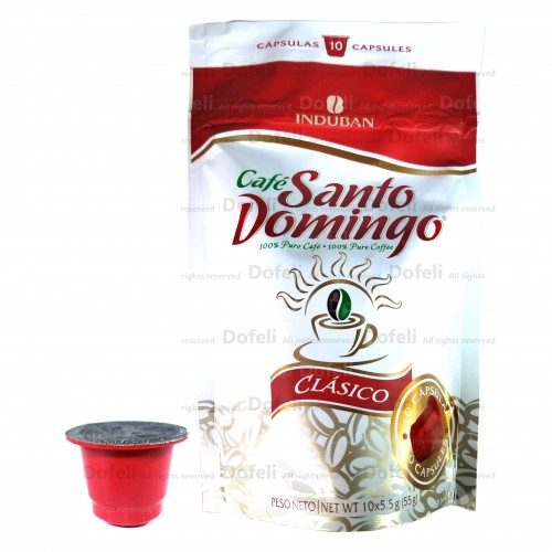 Santo Domingo Dominican Coffee Capsules For Machines