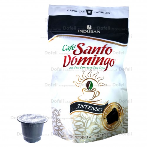 Santo Domingo Dominican Intenso Coffee Capsules