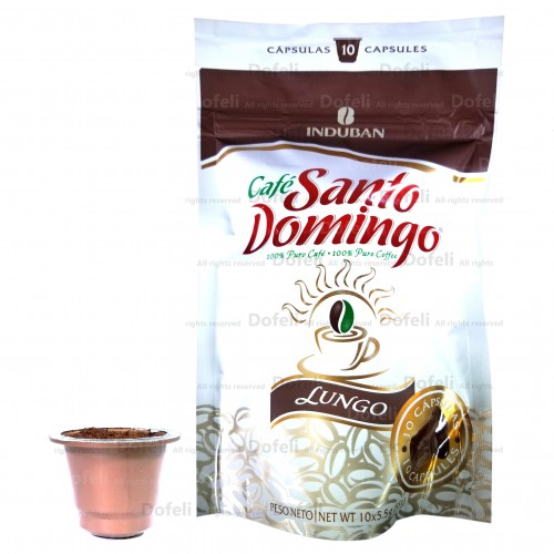 Santo Domingo Dominican Lungo Coffee Capsules