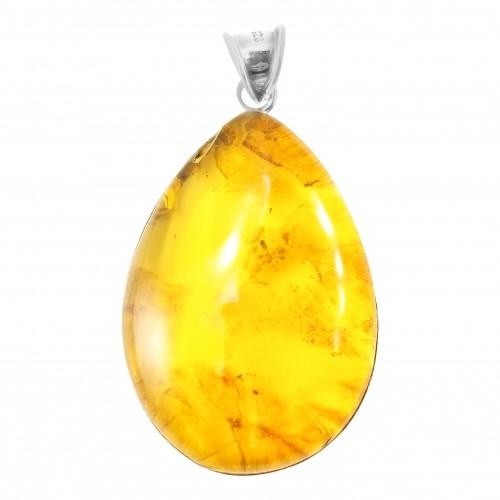 Dominican Amber Precious Gemstone Pendant