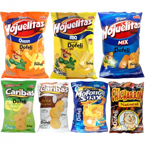 frito-lay-fritos-hojuelitas-cheese-bbq-mix-caribas-plantains-cassava-mofongo-chicharron